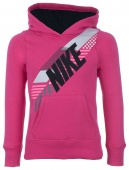 Джемпер для девочек Nike YA76 Brushed Fleece Over-the-Head Graphic